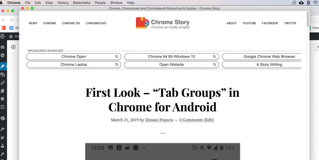 """First Look – """"Focus Tab"""" and Tab Hover Cards for Chrome"""