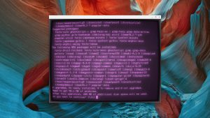 Go full Retro with this custom Linux terminal for your Chromebook